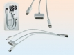 12-579224, USB-Ladekabel für iPad 1 - 4 / iPhone 4 - 5s